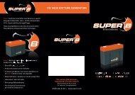 Super-B Starterbatterien
