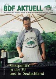 Forstpolitik in der EU und in Deutschland Forstpolitik in der ... - BDF