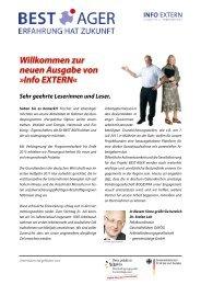 Info EXTERN (September 2011) - Best Ager