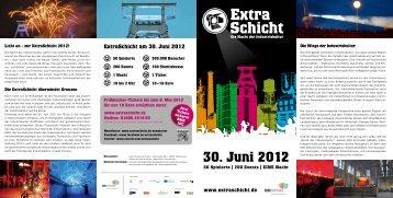 ExtraSchicht am 30. Juni 2012