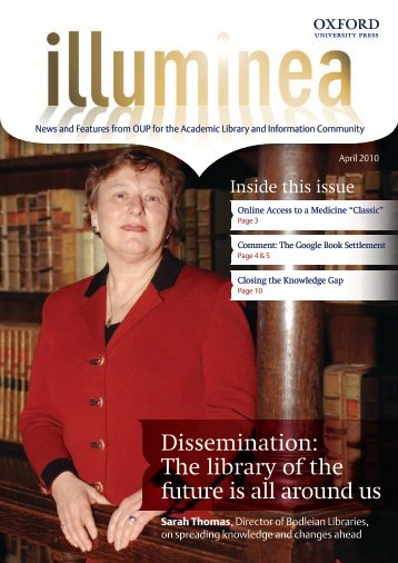 As this issue of Illuminea goes to - Oxford University Press