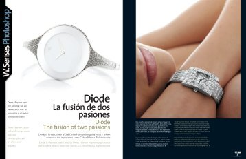 Diode The fusion of two passions - Denis Hayoun Diode