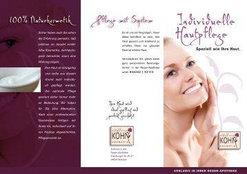 Individuelle Hautpflege - Rosen Apotheke