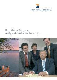 Download Broschüre - Der Finanz Berater