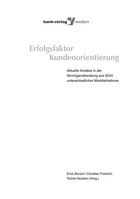 Die neue Kundenorientierung der Commerzbank - Martin Nitsche
