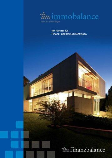 Ihr Partner für Finanz- und Immobilienfragen - immobalance