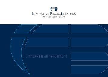 zur Broschüre - Innovative Finanzberatung