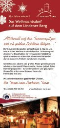 Flyer - Download - Biergarten Lindener Turm