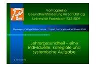Paderborn pdf - Landesprogramm Bildung und Gesundheit
