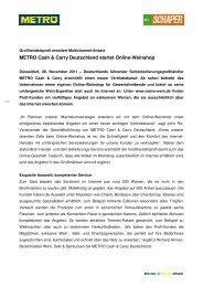 Pressemitteilung_METRO Cash & Carry eröffnet Online-Weinshop