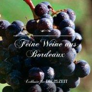 Feine Weine aus Bordeaux - Otto Geisel