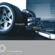 Download Imagebroschüre - KATO Personalberatung