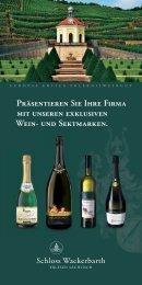 Präsentieren Sie Ihre Firma mit unseren exklusiven Wein- und ...