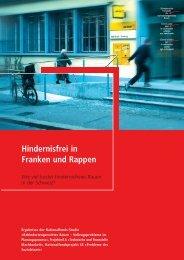Hindernisfrei in Franken und Rappen - Schweizerische Fachstelle ...