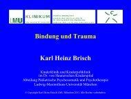 Sichere - PD Karl Heinz Brisch