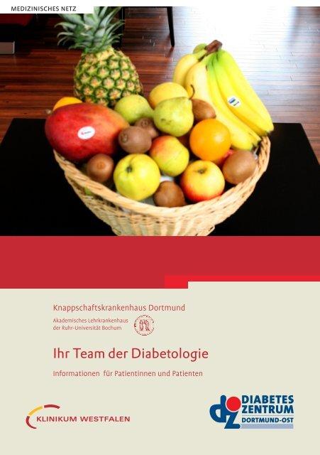 Ihr Team der Diabetologie - Knappschaftskrankenhaus Dortmund