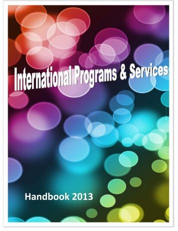International Student Handbook - University of British Columbia