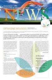optimizing wellness - Simms/Mann UCLA Center for Integrative ...