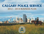 cps 2012-2014 business plan final.pub - The Calgary Police Service