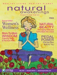 Women's Wellness - Natural Awakenings Magazine Charlotte