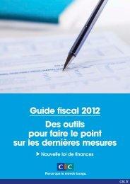 Guide fiscal 2012 Des outils pour faire le point sur les dernières ...