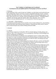Das Verhältnis von Individuum und Gesellschaft - Ploecher.de