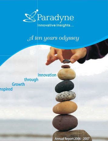 Annual Report FY 2006-07 - Glodyne Technoserve