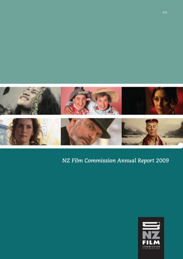 Annual Report 2008-09 - New Zealand Film Commission