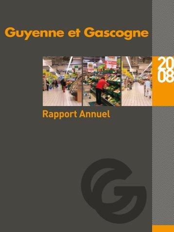 Rapport Annuel 2008 - Guyenne et Gascogne