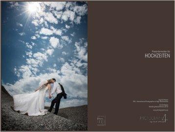 Preisinformation für Hochzeiten - Atelier Schlieper