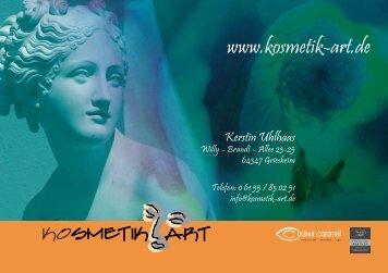 Kerstin Uhlhaas - Kosmetik Art