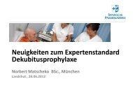 Neuigkeiten zum Expertenstandard ... - Zimmermann