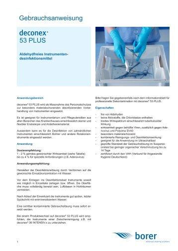 deconex 53 PLUS - Borer Chemie