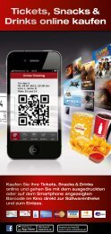 Tickets, Snacks & Drinks online kaufen - Kinopolis