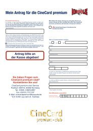 Antragsformular optional als PDF-Vorlage herunterladen - Kinopolis