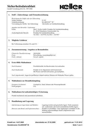SDB - Max F. Keller  GmbH