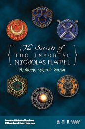 The Secrets of the Immortal Nicholas Flamel - Random House