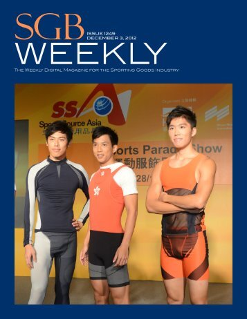 The Weekly Digital Magazine for the Sporting Goods Industry