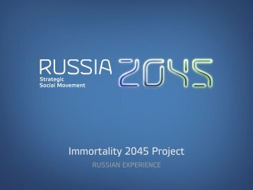 Immortality 2045 Project