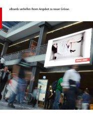 eBoards verhelfen Ihrem Angebot zu neuer Grösse. - eAd