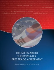 the facts about the korea-us free trade agreement - US Korea Connect