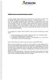 BPM Explanation GB - Athlon Car Lease
