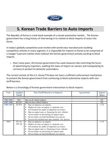 south korea barriers to entry Doing business in south korea guide produced by ima in association with the british chamber of commerce in korea (bcck) - opportunity korea  market entry.