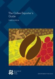 The Coffee Exporter's Guide - International Trade Centre