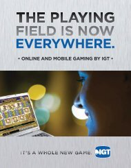 Online And Mobile Gaming By IGT - Social Gaming - IGT