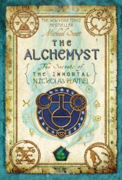 The Alchemyst: The Secrets of the Immortal Nicholas Flamel