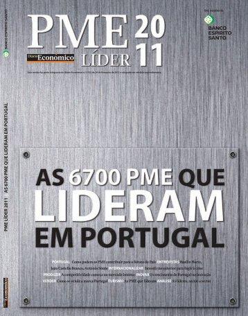 P M E LÍDER 2011 | A S 6700 P M E Q U E ... - Diário Económico