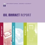 Couv + Impo 3 21x21 - Oil Market Report