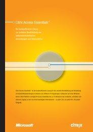 Citrix Access Essentials™ - Digital Works GmbH