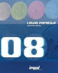 Letno poročilo skupine Impol za leto 2008